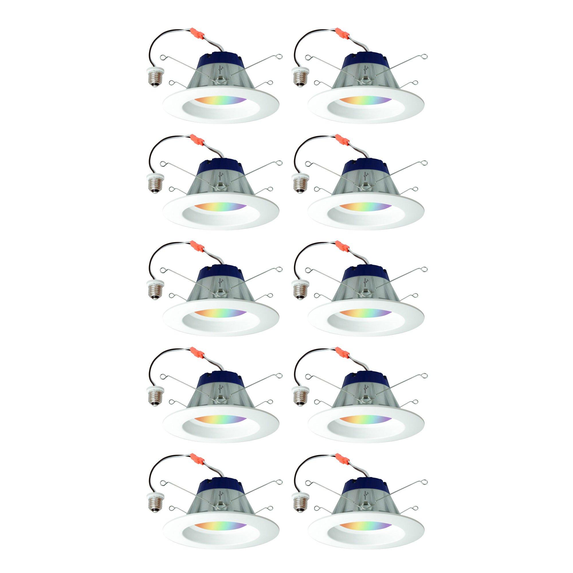 Sylvania Lightify 65W LED Smart Home 2700-6500K Color/White Light Bulb (10 Pack) - image 7 de 7