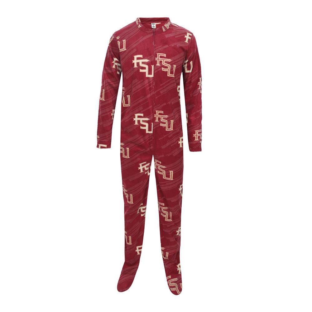 FSU Florida State University Union Suit Footed Pajamas
