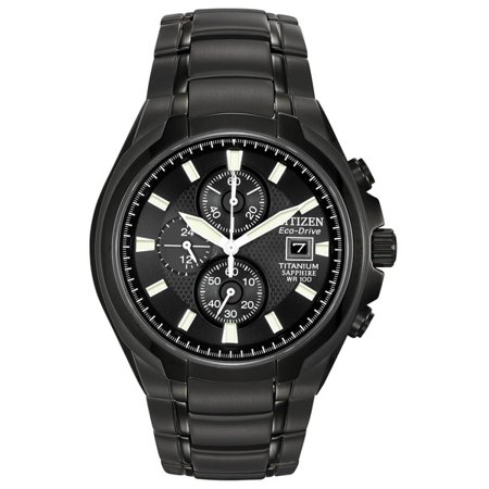 - Eco-Drive Titanium Chronograph Mens Watch CA0265-59E