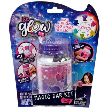 So Glow DIY Mini Magic Jar Cosmic Kit - Diy Glow Jars