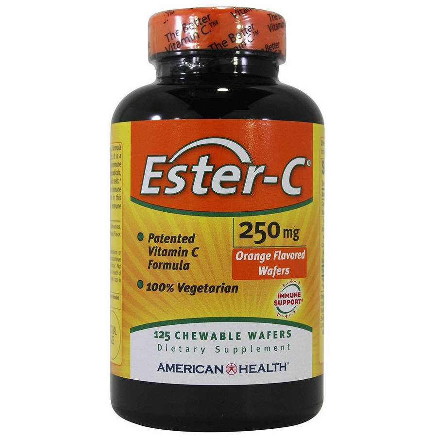American Health Ester-C Tablets, 125 CT