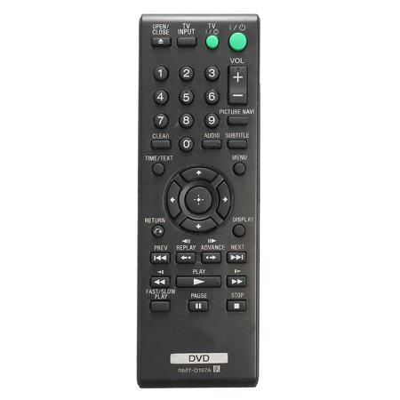 Universal DVD Remote Control For Sony RMT-D197A DVP-SR210 DVP-SR210P DVP-SR510 DVP-SR510H New (Universal Dvr Remote Control)