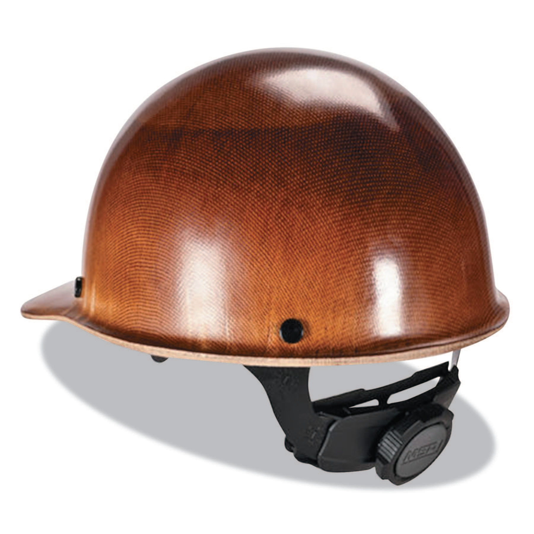 MSA Skullgard Caps with Fas-Trac Suspension, Fas-Trac Ratchet, Cap, Natural Tan