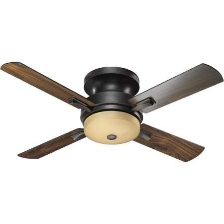 Indoor Ceiling Fans 3 Light With Old World Finish Candelabra Base 52 inch 120 Watts