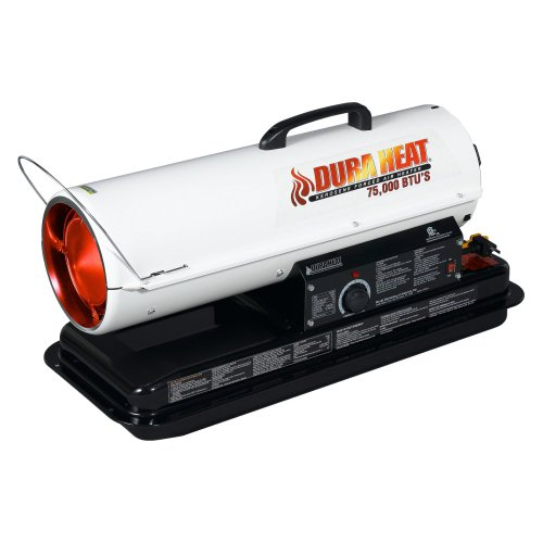 Duraheat World Marketing 70,000-BTU Kerosene Forced Air Heater, DFA-80T