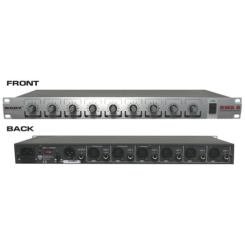 Nady 6-Channel Audio Mixer