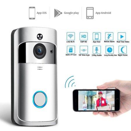 Supersellers Home WiFi Wireless Video DoorBell, Waterproof Smart DoorBell Visual Camera Intercom Secure Camera