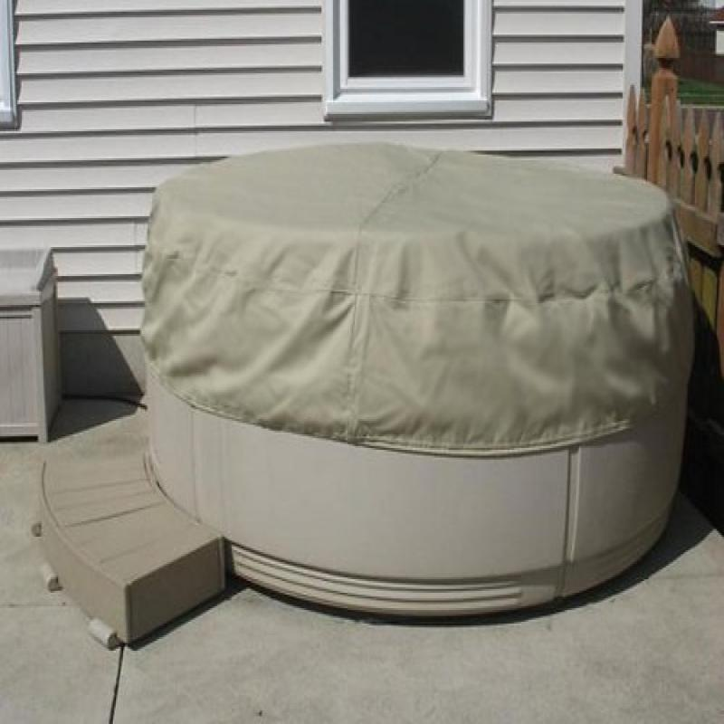 The Cover Store Covermates Round Soft Cap Hot Tub Cover :...