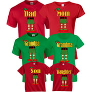 e050ef2e Halloween Matching Christmas ELF Elves Cute T-Shirts Incredible Family MOM  DAD KIDS GoCustom