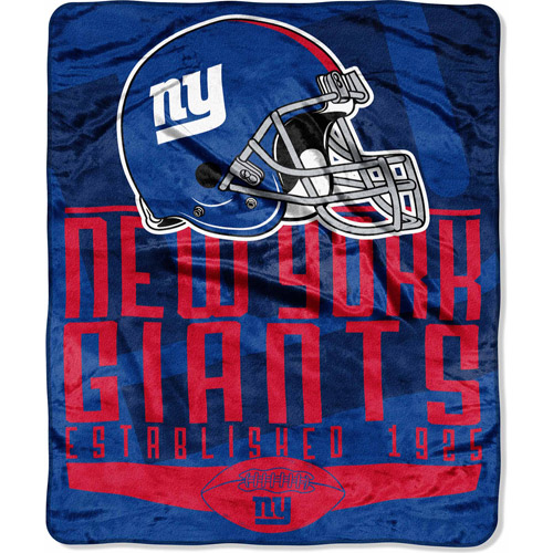 "NFL Franchise Series 55"" x 70"" Silk Touch Throw, Giants"