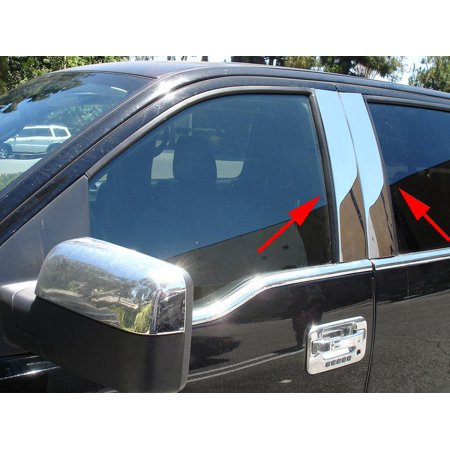Int Trim44705PPT Body Pillar Cover Polished; Stainless Steel; 4 Piece Polished 4 Piece