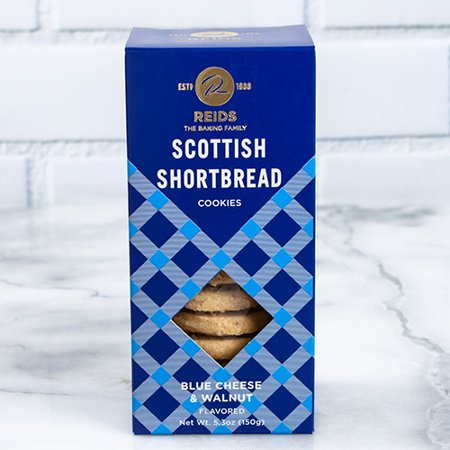 Reids Of Caithness Savory Scottish Shortbread - Blue Cheese & Walnut (5.3 -