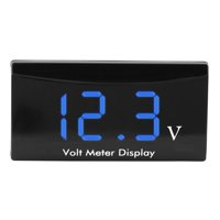 Yosoo 12V Car Motorcycle Digital LED Display Voltmeter Voltage Volt Gauge Panel Meter, Voltage Gauge,Voltmeter