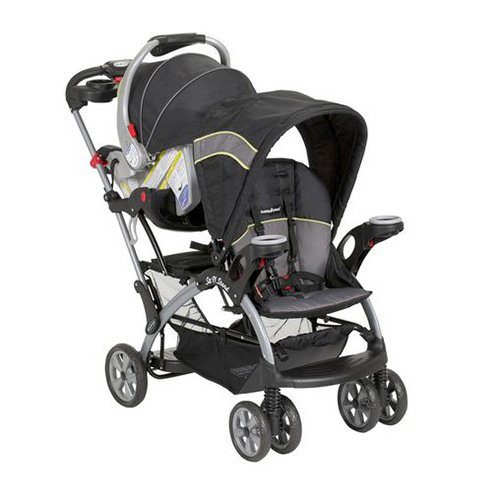 Baby Trend Sit N Stand Ultra Infant Kids Double Stroller - Reseda | SS66436