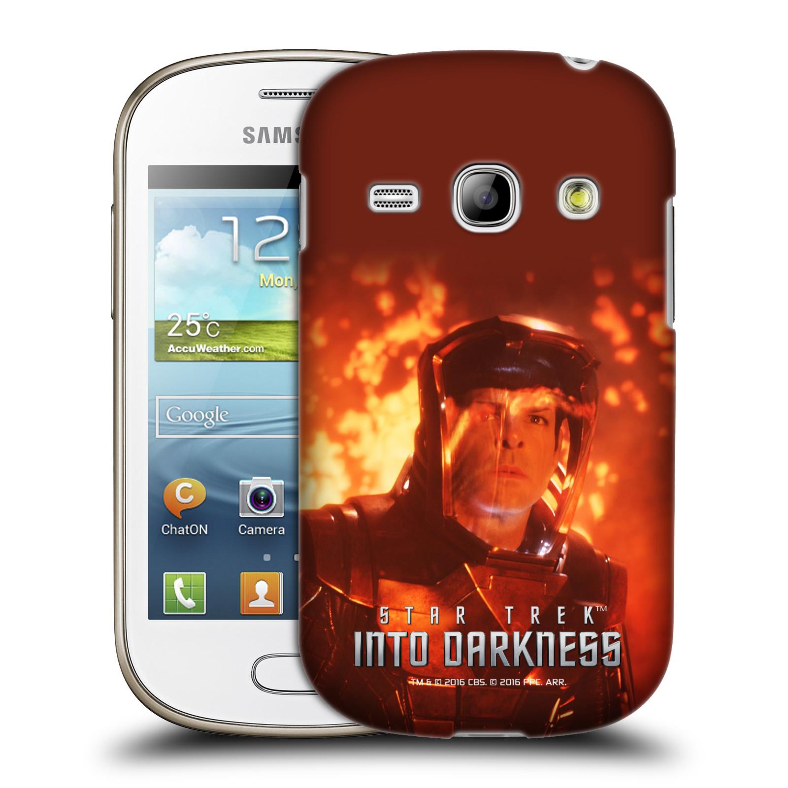 OFFICIAL STAR TREK MOVIE STILLS INTO DARKNESS XII HARD BACK CASE FOR SAMSUNG PHONES 5