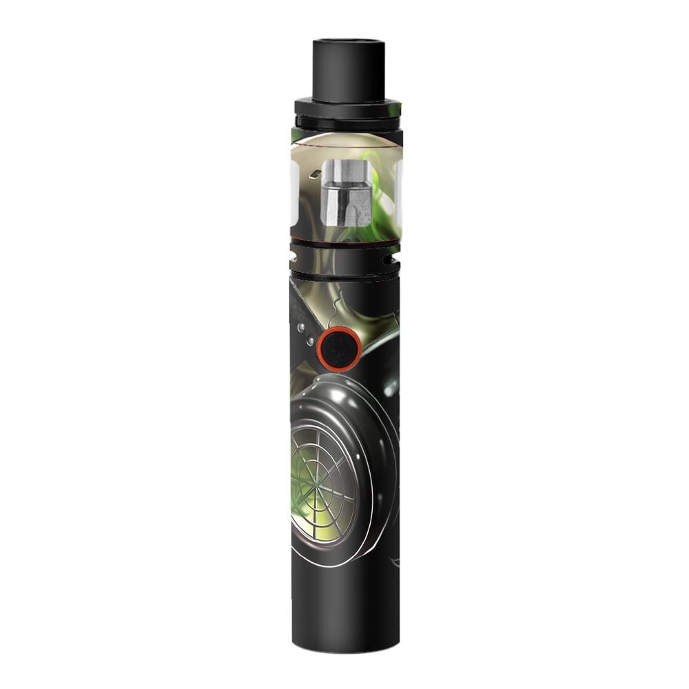 Skins Decals For Smok Stick V8 Pen Vape   Gas Mask Skeleton by Itsaskin