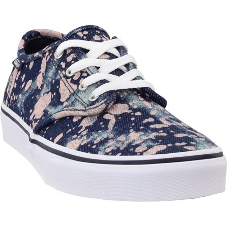 Vans Boys Camden Stripe  Casual Sneakers Shoes - (Vans Cream Shoes)