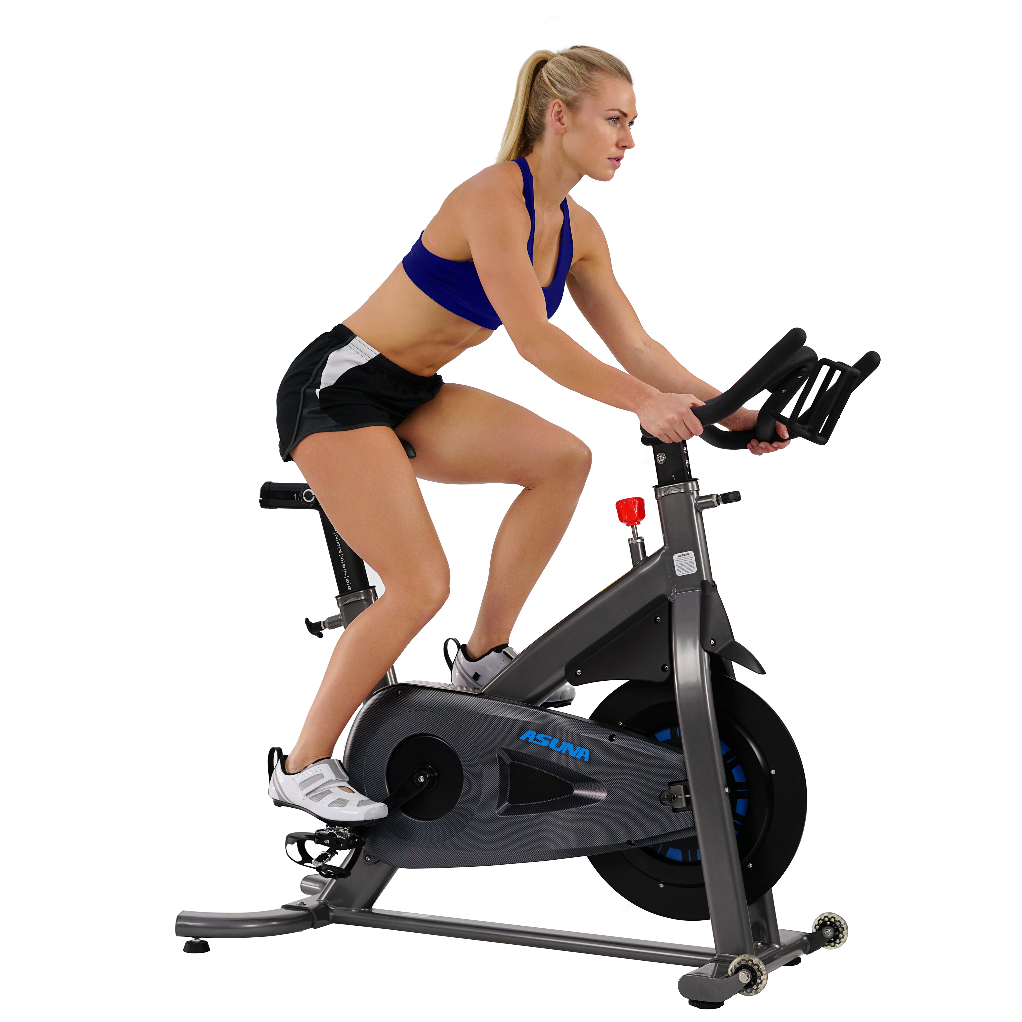 ASUNA 5150 Magnetic Turbo Exercise Indoor Cycling Bike Trainer