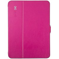 "Speck StyleFolio Carrying Case for Galaxy Tab 4 10.1"" - Fuschia Pink, Nickel"