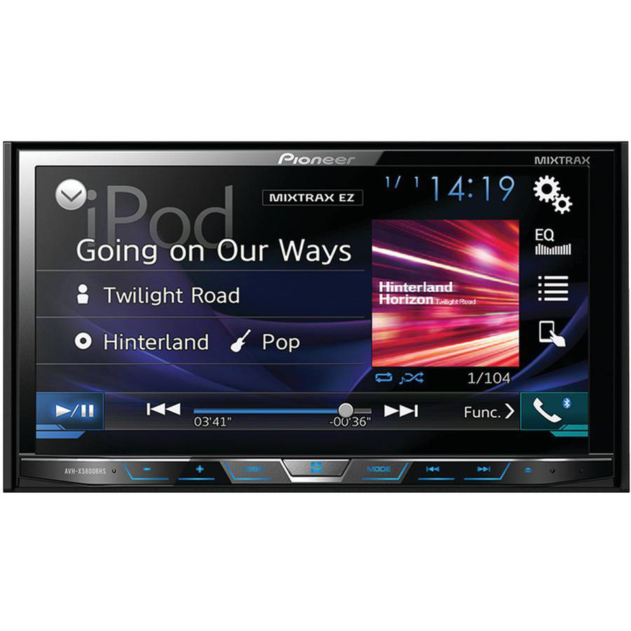 car receivers walmart com in dash dvd receivers
