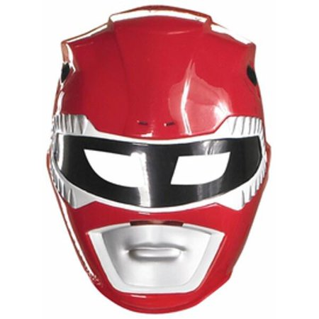Economy Red Power Ranger Mask - Austin Powers Mask