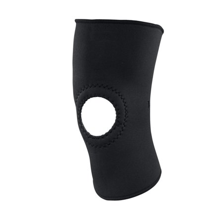 ACE Brand Open Knee Support, Medium, Black,