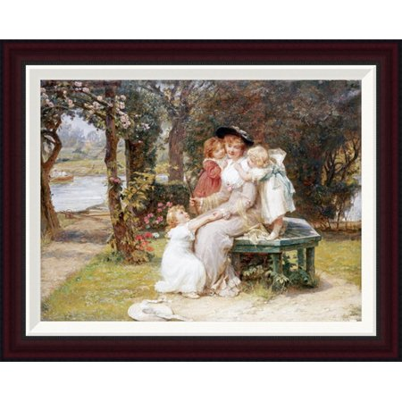 Global Gallery Me Too  By Frederick Morgan Framed Painting Print