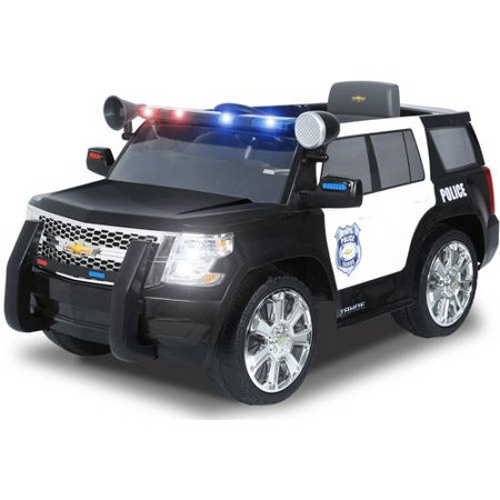 Rollplay Chevy Tahoe Police SUV 6-Volt Battery-Powered Ride-On