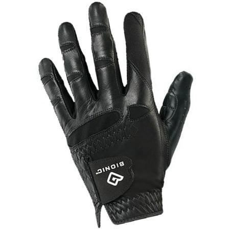 Bionic Glove Mens Stablegrip With Natural Fit Golf Glove Regular Medium Large Left Black