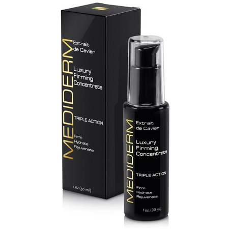 MediDerm Luxury Cellular Firming, Anti Aging Caviar & Hyaluronic Acid Concentrate/ Serum