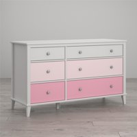 Little Seeds Monarch Hill Poppy 6-Drawer Dresser, Multiple Colors