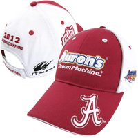 Chase Authentics Michael Waltrip Alabama Crimson Tide Back-to-Back BCS National Champions Adjustable Hat - Crimson/White - OSFA