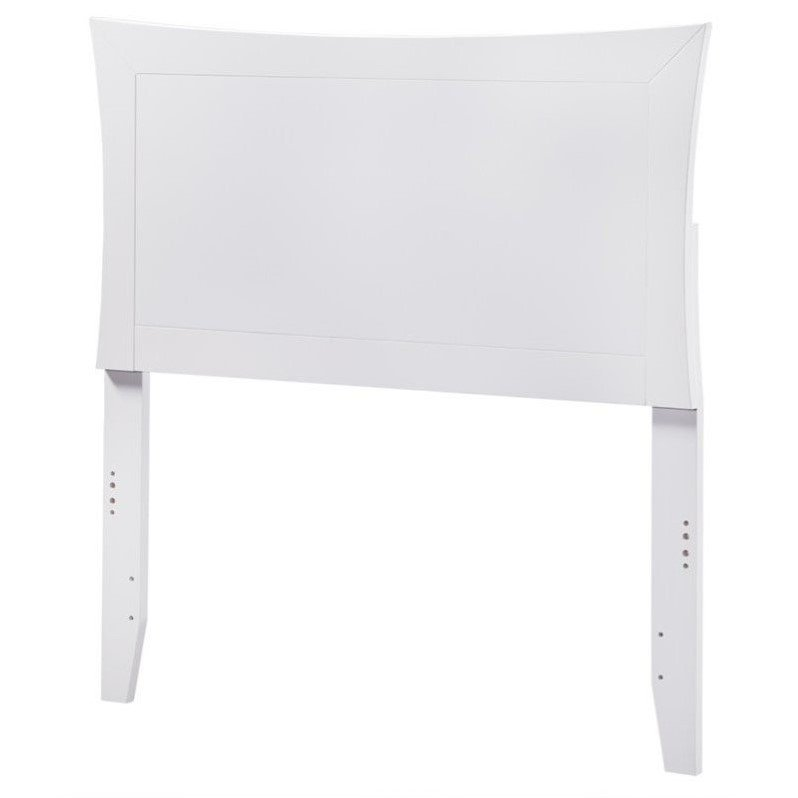 Atlantic Furniture Metro Panel Headboard in White by Atlantic Furniture