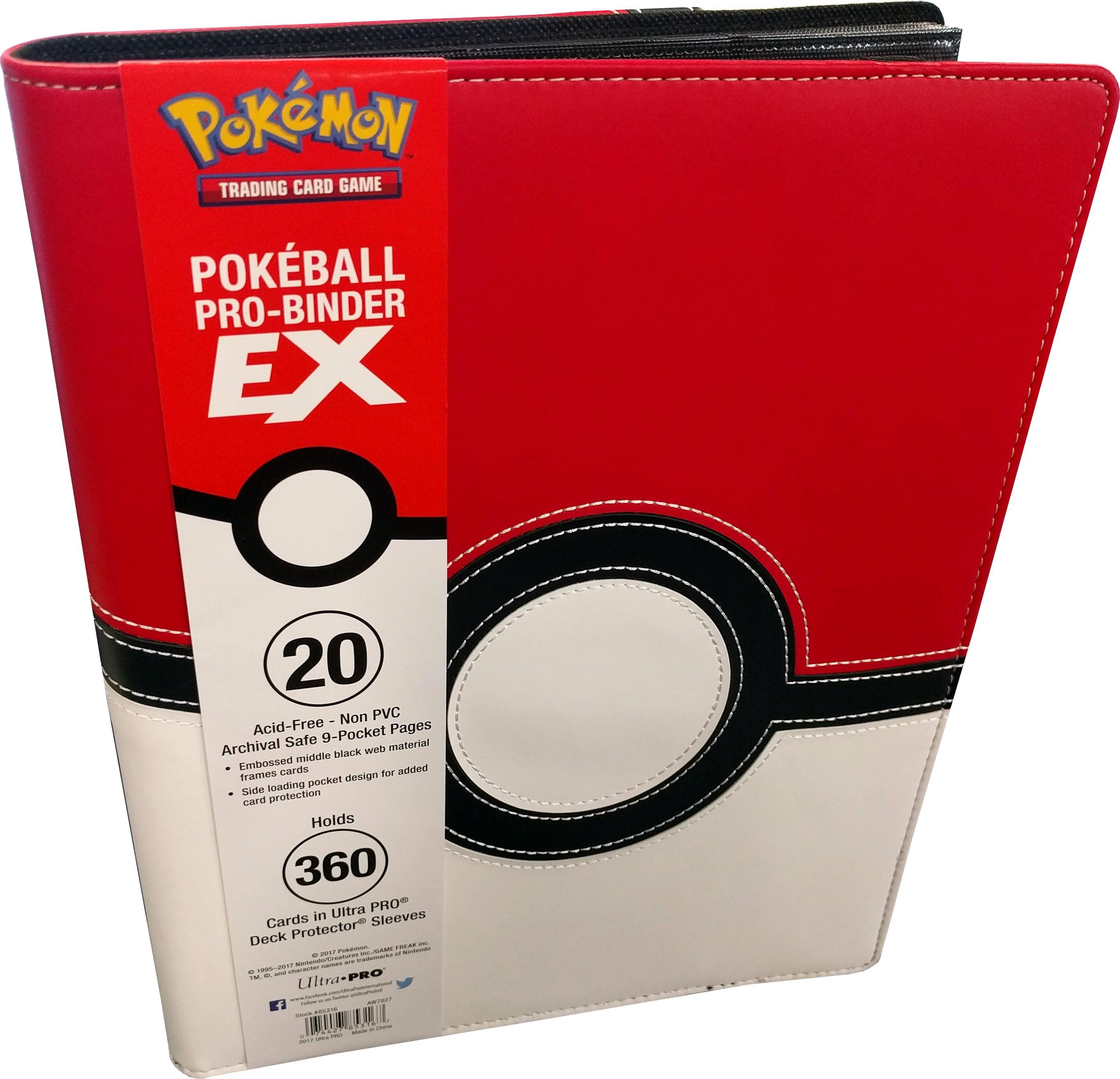 Ultra Pro Pokemon Pokeball Premium PRO 9 pocket Binder