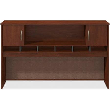 Bush Business Furniture, BSHWC24466A2, Series C Hansen Cherry 72W 2-door Hutch, 1 (Hansen Cherry Hutch)