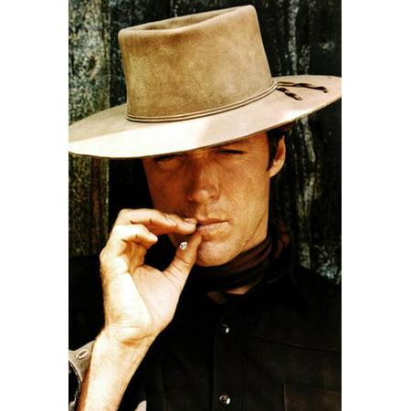 Clint Eastwood Portrait Poster Hang Em High Movie Set Cool New 24X36