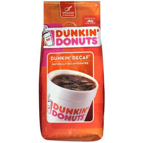 Dunkin' Donuts Dunkin' Decaf Ground Coffee, 12 oz