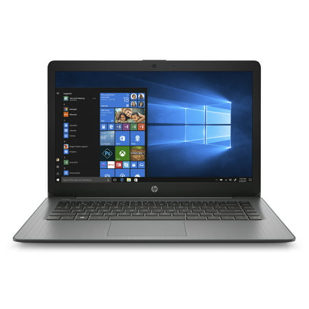"HP Stream 14 Laptop 14"", Intel Celeron N4000, Intel UHD Graphics 600, 4GB SDRAM, 32GB eMMC, Office 365 1-yr, Brilliant Black, 14-cb164wm"