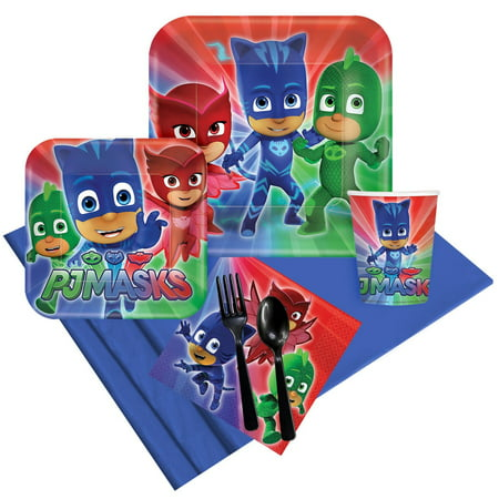 PJ Masks Party Pack for 8 - Halloween Night Party 2017