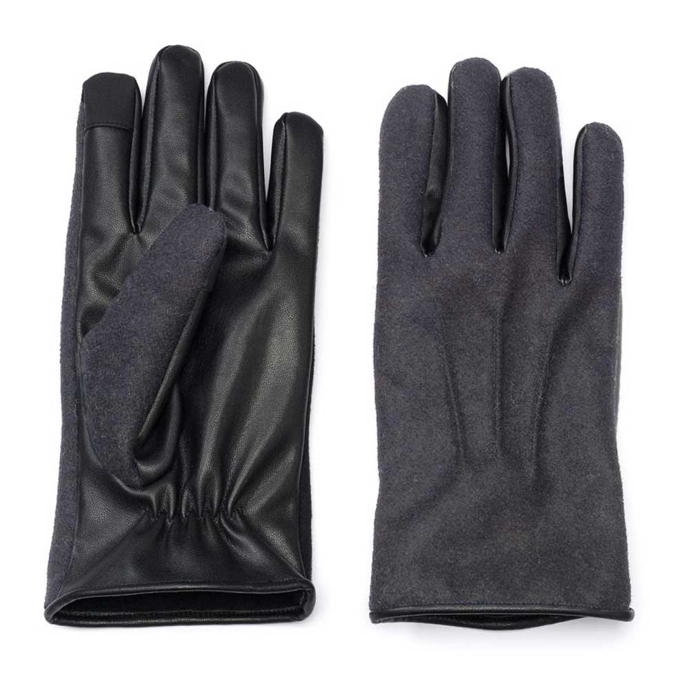 Apt. 9 Men Wool Blend Faux Leather Driving Gloves