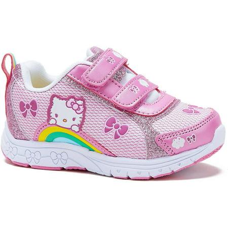 3392e163920b Hello Kitty - Toddler Girls  Classic Sneaker - Walmart.com