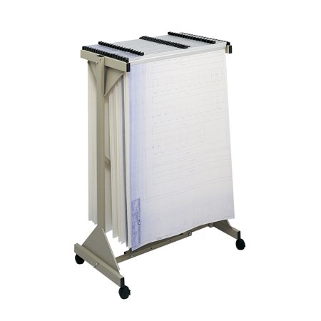 Safco 5060 Vertical File Systems Mobile Plan Center