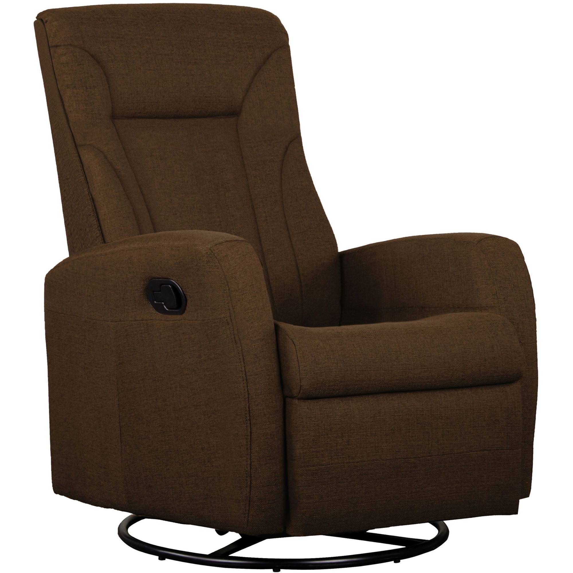 Shermag Motion Occasional Armchair, Polyester Brown