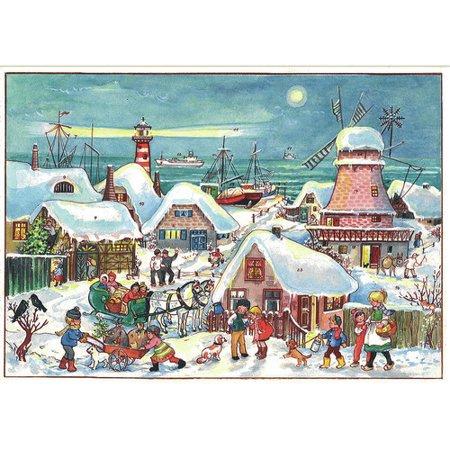 Alexander Taron Sellmer Village in Dutch Port Advent Calendar ()