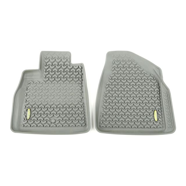 Outland Automotive Floor Liners, Front, Gray; 07-16 Gm Acadia/Traverse/Enclave 398490103