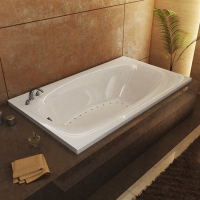 Atlantis Tubs 3672PAL Polaris 36 x 72 x 23 Inch Rectangular Air Jetted