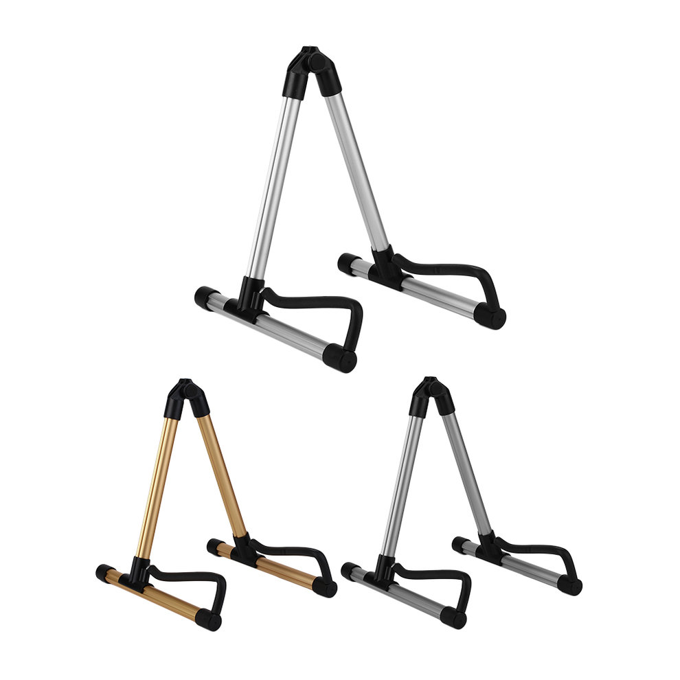 SK20 Alloy Guitar Stand Universal Folding For Acoustic Electric Guitars