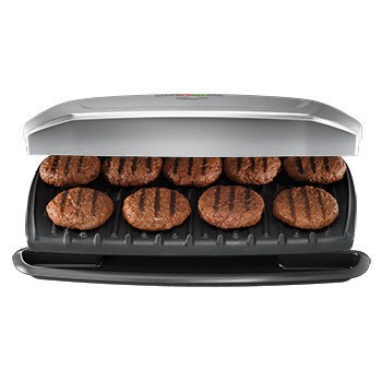 George Foreman Classic Plate 9-Serving Grill & Panini Press, GR2144P