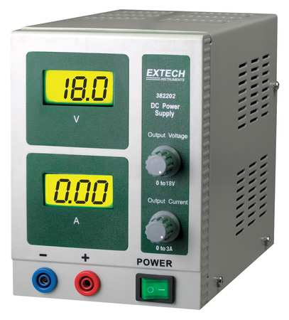 Digital Single Output DC Power Supply EXTECH 382202
