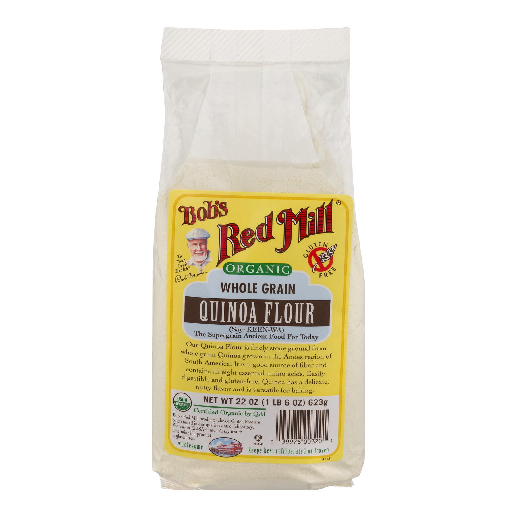 Bob's Red Mill Organic Whole Grain Quinoa Flour, 22 oz